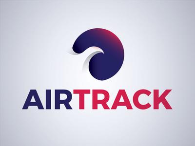 Airtrack Logo bird logo airtrack dailylogochallenge