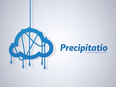 Precipitatio Logo Design logo cloudcomputing cloud dailylogo dailylogochallenge