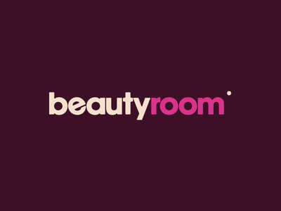 Beauty Room logo pink make-up cosmetics beauty spot identity branding brand logo