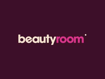Beauty Room logo pink make-up cosmetics beauty spot identity branding brand logo