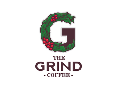 The Grind Coffee thirtylogoschallenge thirty logos challenge identity coffee g brand branding logo