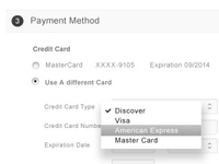Step 3 Checkout page