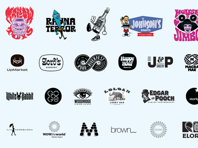 Logos illustration design illustrator branding logo