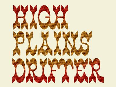 HPD exploration beastie boys typography