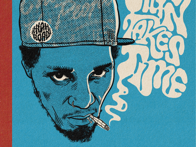 Del smoke illustration procreate hip hop del