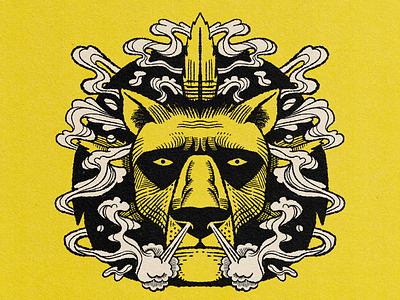 The chronic cannabis 420 lion