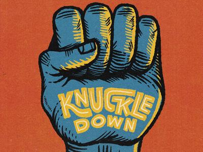 Sound advice typography illustration fist knuckle