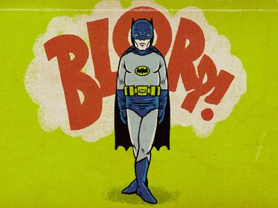 Batman procreate hero paunch dadbod batman