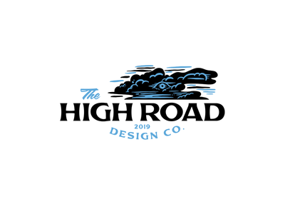 Further down the road.... typography brand logo