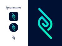 Logo + App Icon Design lines film app logodesign gradient branding ios app icon logo