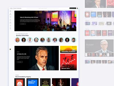 Recommendation Dashboard design education e-learning learning platform social media ux ui design microsoft web app dashboard ui