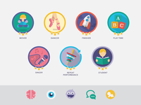 (WIP) Custom Iconography & Badges