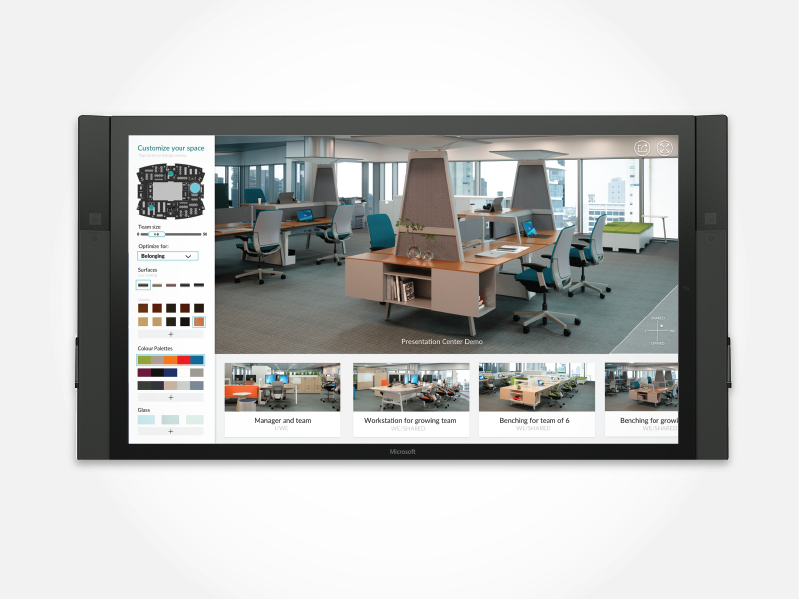 Kiosk Prototype for Yulio VR icons visual design ux ui vr surface hub microsoft interior design architecture