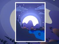 Mountain Night Version