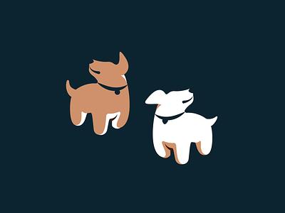 Doggie Vectors dog puppies puppy illustrator logo art vector art illustration vector animals dogs