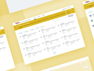 Web App- Railroad railroad industry design web app ux ui application