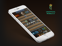 Gwent Unofficial Mobile UI