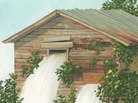 waterfall house #1