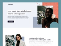 Omnilytics Trends Forecasting Campaign retail analytics data analytics data trends data fashion website