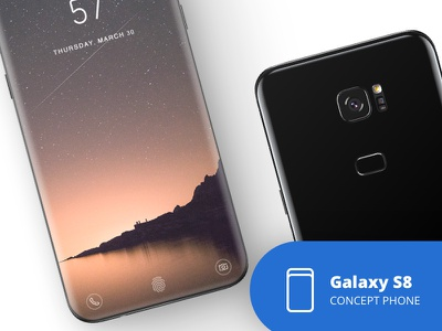 The Galaxy S8 concept phone galaxy s8 concept galaxy s8 samsung