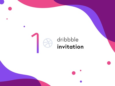1 Dribbble Invite! 1 one invite giveaway invite dribbble