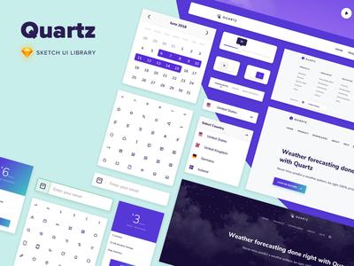 Quartz - Sketch UI Library