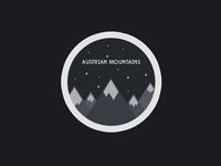 Austrian Mountains Logo