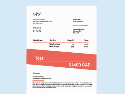 Daily Ui 046 Invoice graphic design product design web design layout typography ux ui fintech inovoice daily ui 046 daily ui