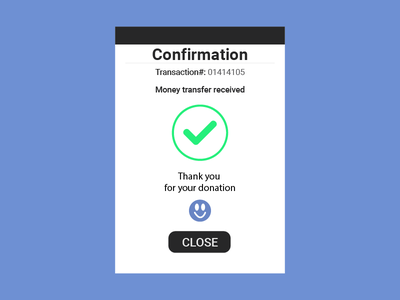 Daily Ui 054 Confirmation graphic design product design web design fintech material design typography ux ui money transfer confirmation daily ui 054 daily ui