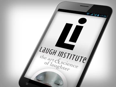 Laugh Institute, Mobile Web { Responsive Design excerpt }