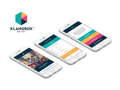 Klangbox App music electronic miami local radio design app
