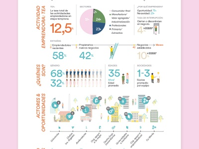 Buenos Aires entrepreneur editorial data illustration buenos aires entrepreneur government infographic