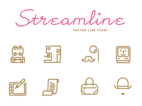 Streamline Vector Icons - Freebie