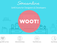 Streamline icons is Out! 1640 icons