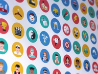 More than 1,000 flat icons - Coming soon!