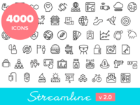 4000 icons! Streamline 2.0 launched