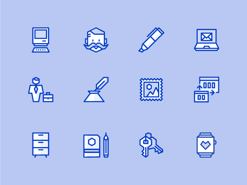 Ego Icons - Color responsive ios line minimal icons