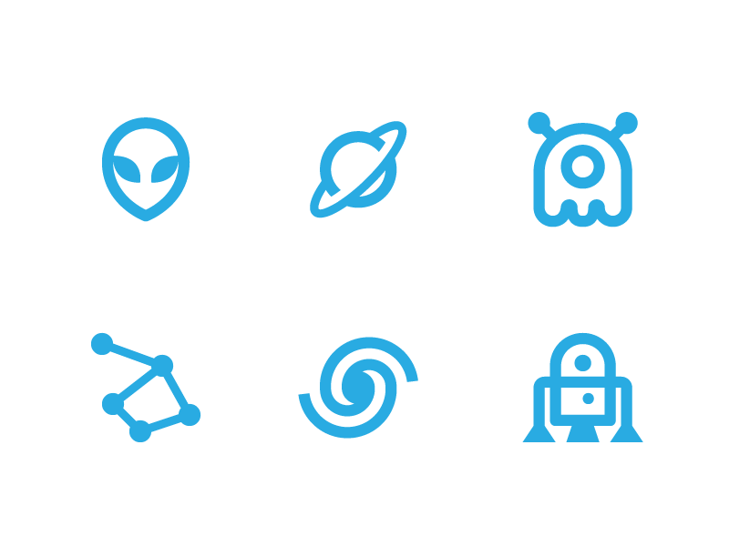 Space - Nova icons pack set lollipop ui interface flat material design material app android icons google