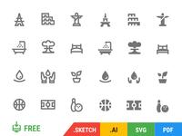 350 Free Icons