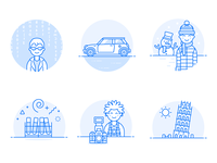 Duotone Illustrations