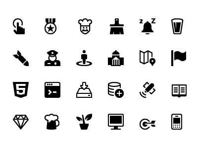 1500 Icons! vector icons minimal