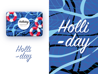 Holliday Vibe illustration poly low