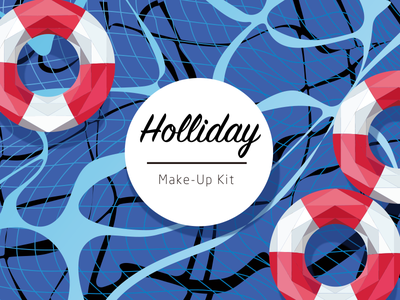 Holliday Vision illustration lowpoly grahpic packaging