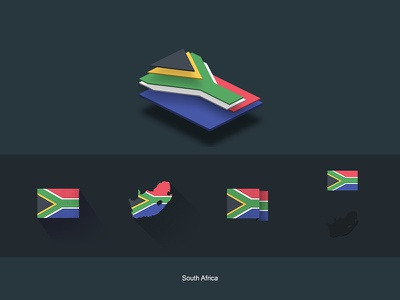 Flat Flags South Africa gifts design flat map world flags africa south store redbubble