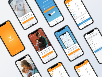 Family Plan - Kincrew uidesign app ui branding cliffex ios app design familyplan family