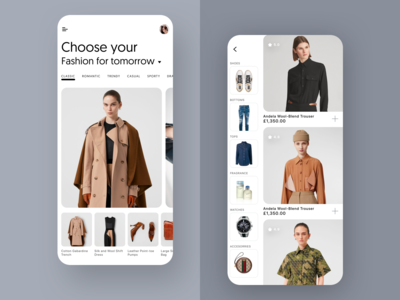 Browse Fashion App