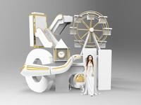 Kochi 3d Typography
