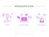 Weizhaopin Icons