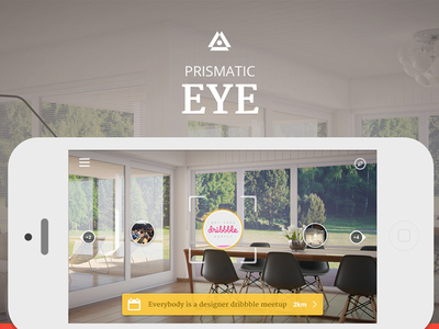 Prismatic eye - AR concept prismatic eye augmented reality ar concept case study iphone app web presentation local discovery