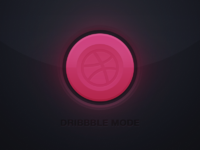 Dribbble mode on